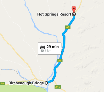 hot springs to birchenough