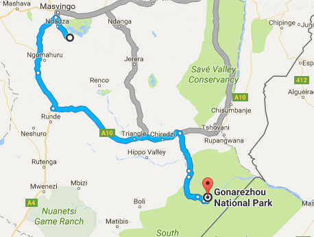 Gonarezhou to Great Zimbabwe