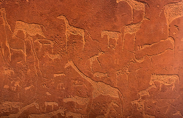 twyfelfontein rock paintings Must see and do in Namibia
