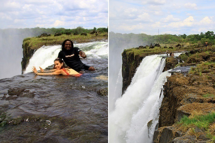 Devils-Pool-Swim-1-1 Zambia Itinerary 30+ Amazing Places And Things to do