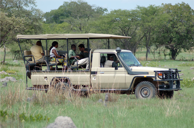 chaminuka game reserve drive safari