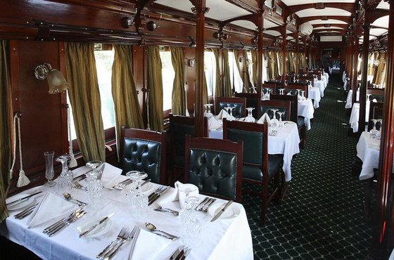 Royal Livingstone express dining