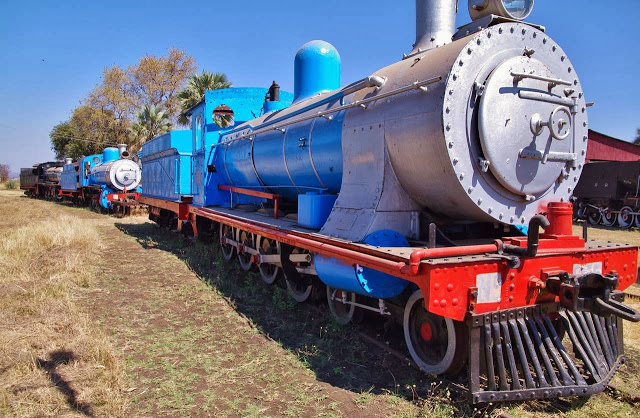 web-12-Aug-2012-c-Tjark-van-Heuvel-ZSR-955-railway-museum-Livingstone-via-Panoramio 30+ Amazing Places And Things to do In Zambia and things to see