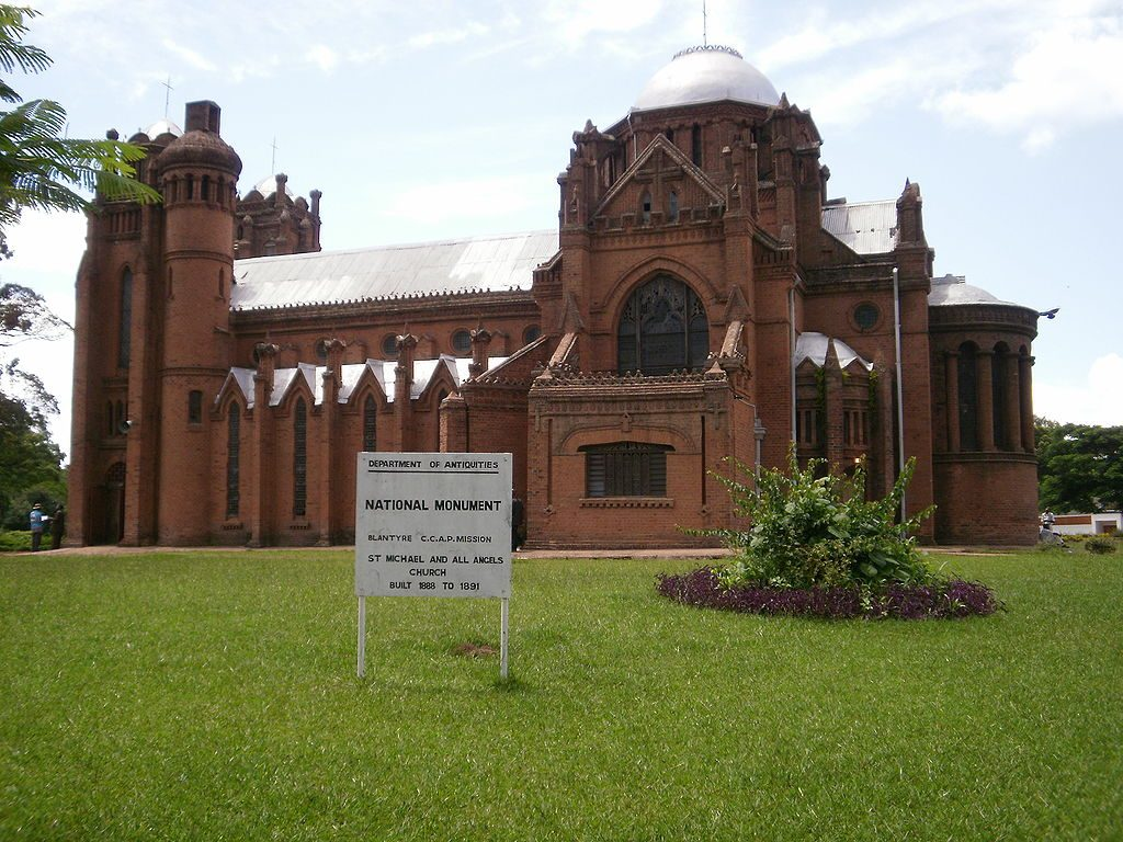 1024px-St_Michael_and_All_Angels_Church-1024x768 Ultimate Travel Guide: Places to Visit Malawi
