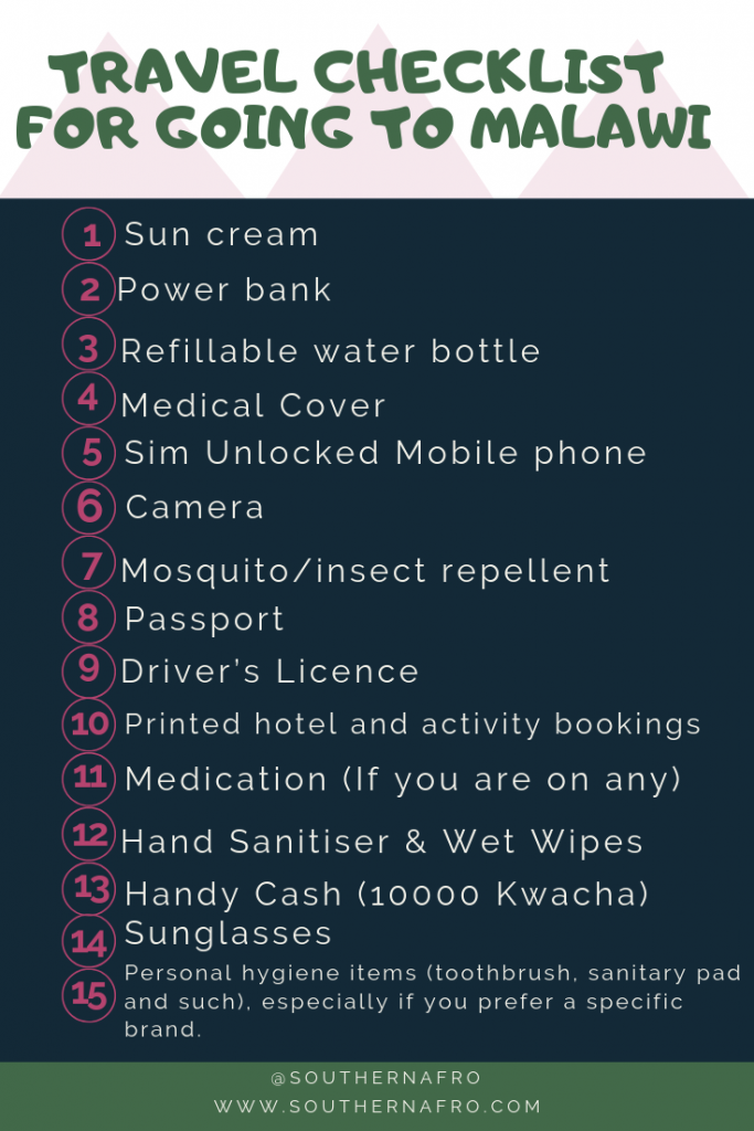 TRAVEL-CHECKLIST-FOR-GOING-TO-MALAWI-683x1024 Ultimate Travel Guide: Places to Visit Malawi